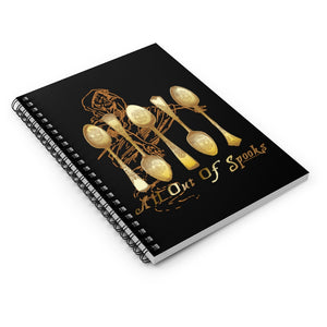 All Out of Spooks - Ruled Line Spiral Notebook
