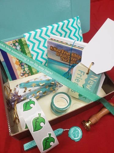 Aesthetically Charming Stationery Set - Animal Crossing Inspired!
