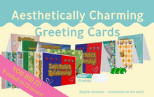 Load image into Gallery viewer, Aesthetically Charming Stationery Set - Animal Crossing Inspired!