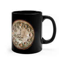 Load image into Gallery viewer, Esther 4:14 Coffee Clock - 11oz Black Mug