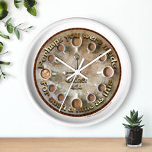 "Load image into Gallery viewer, Esther 4:14 Coffee Clock - 10"" Wall Clock"