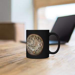 Esther 4:14 Coffee Clock - 11oz Black Mug