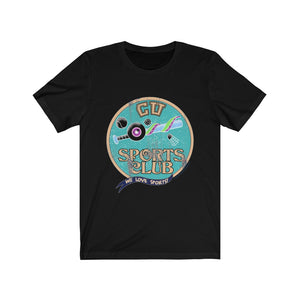 Cryptid University - Sports Club Unisex Tee (Glitch)