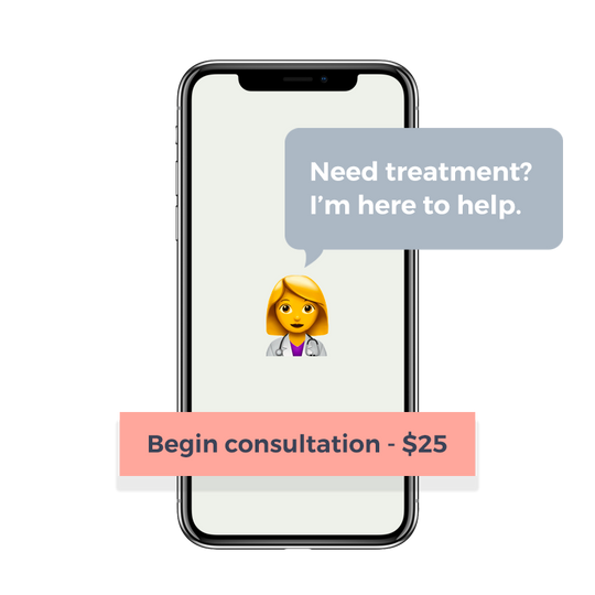 Doctor consultation happens in the Scanwell app