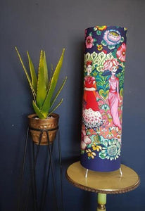 Frida aubergine table lamp