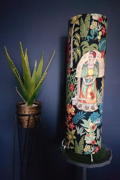 Frida Kahlo Large Tropical Lamp