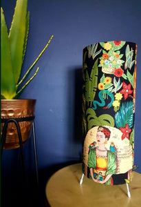 Frida Black Jungalow Lamp