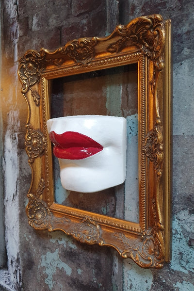 'Marilyn'' Wall Mounted Lips Wall Decor/Shelf