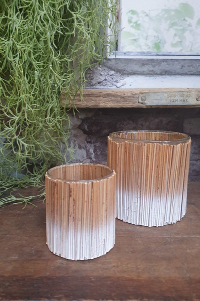 Wooden Sticks Votives