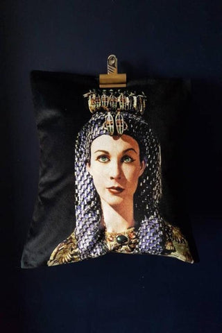 Velvet Cleopatra, Vivien Lee Decorative Pillow / Cushion