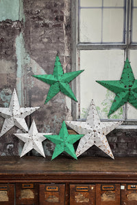 Authentic Amish Tin Barn Stars