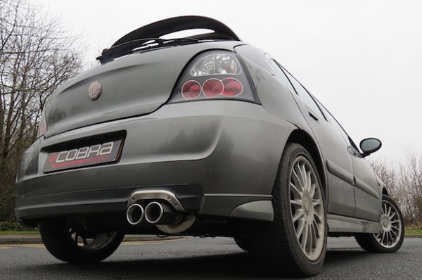 MG ZR Performance Exhausts