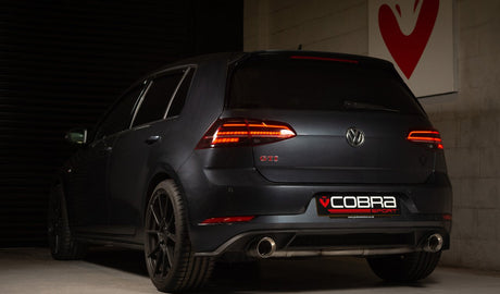 VW Golf GTI Mk7.5 Cobra Exhaust