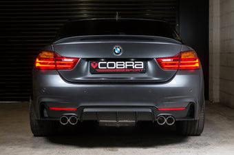 BMW 435D Quad Exit Conversion by Cobra Sport Exhausts