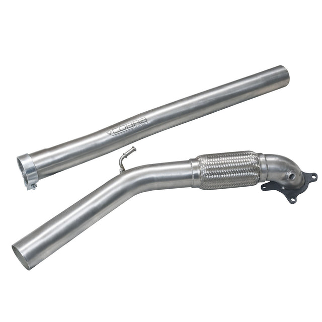Audi A3 8P Cobra De-Cat Downpipe Sports Exhaust - AU11