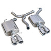 Audi A5 TDI Dual Exit Sports Exhaust Conversion AU69