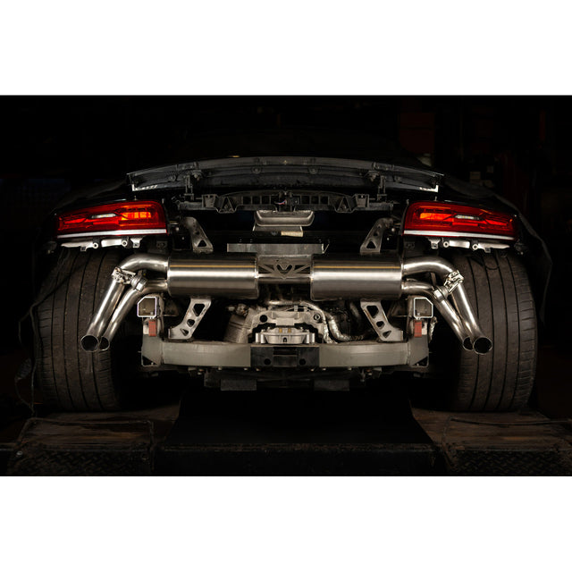 Audi R8 5.2 V10 Cat Back Exhaust Fitted