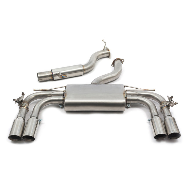 Audi S3 (8V) Saloon (Valved) Cat Back Performance Exhaust
