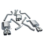 Audi S5 Resonated Cat Back Performance Exhaust by Cobra Sport - AU57