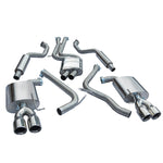 Audi S5 Resonated Cat Back Performance Exhaust by Cobra Sport - AU58