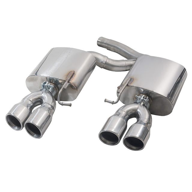 Audi S5 3.0 TFSI Rear Exhaust Box Performance Exhaust
