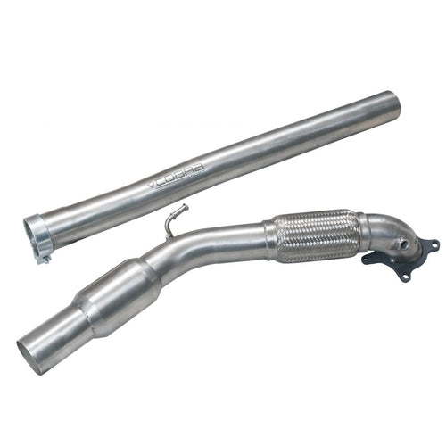 Audi TT 1.8/2.0 TFSI Sports Cat Downpipe Cobra Exhaust - AU27