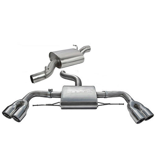 Audi TTS Mk2 Resonated Cat Back Exhaust - AU35