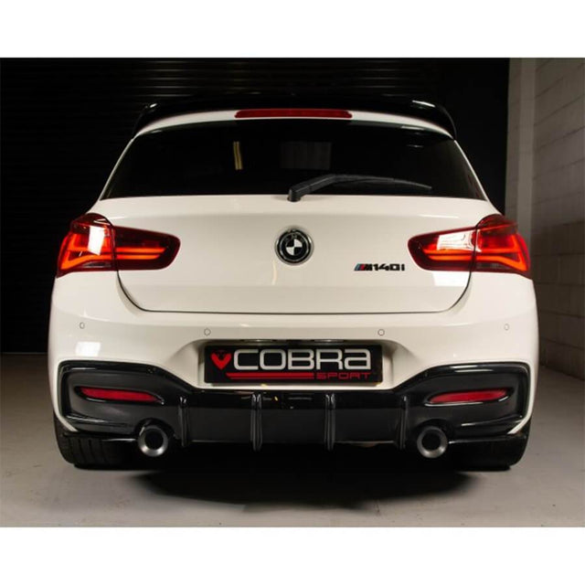 "BMW M140i 3.5"" Tailpipes - M Performance Style Exhaust Tips"