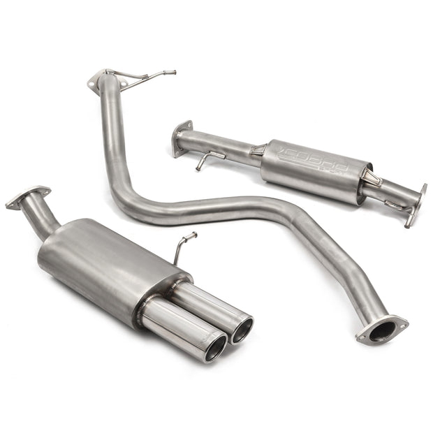 "Ford Fiesta ST180 2.5"" Resonated Cobra Exhaust - FD50"