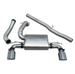 Ford Focus RS (MK3) Non Valved Non Resonated Cat Back Exhaust - FD88