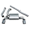 Ford Focus RS (MK3) Valved Non Resonated Cat Back Exhaust - FD90