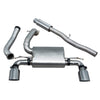 Ford Focus RS (MK3) Non Valved Resonated Cat Back Exhaust - FD87