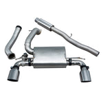 Ford Focus RS (MK3) Valved Resonated Cat Back Exhaust - FD91