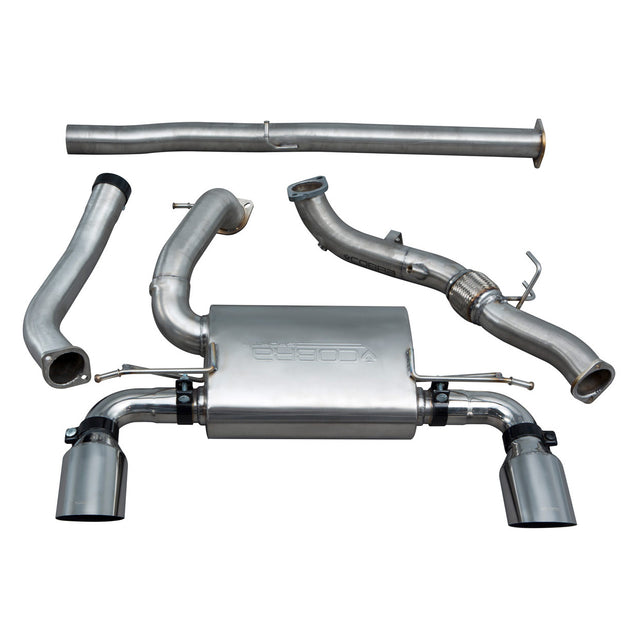 Ford Focus RS (MK3) Non Valved Non Resonated Turbo Back Exhaust with De-Cat