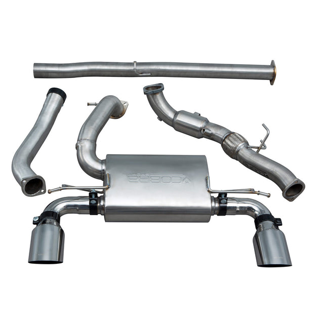 Ford Focus RS (MK3) Non Valved Non Resonated Turbo Back Exhaust with Sports Cat