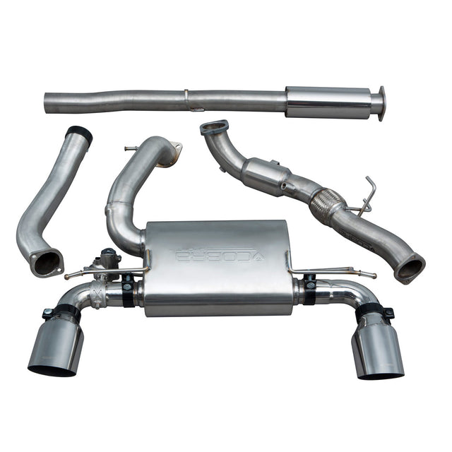 Ford Focus RS (MK3) Resonated Turbo Back Exhaust with Sports Cat - FD91a