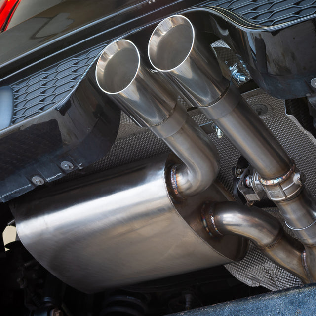 "Mini (Mk3) Cooper S / JCW (F56) 3"" Valved Cat Back Performance Exhaust"