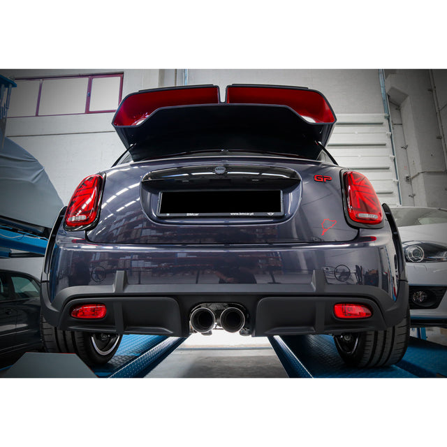 "Mini GP3 (Mk3) JCW (F56) 3"" Valved Cat Back Performance Exhaust"