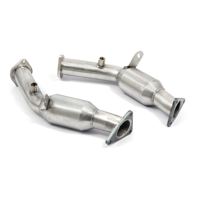 Nissan 350Z Sports Cat Exhaust Pipes (HR Engine) - NZ06