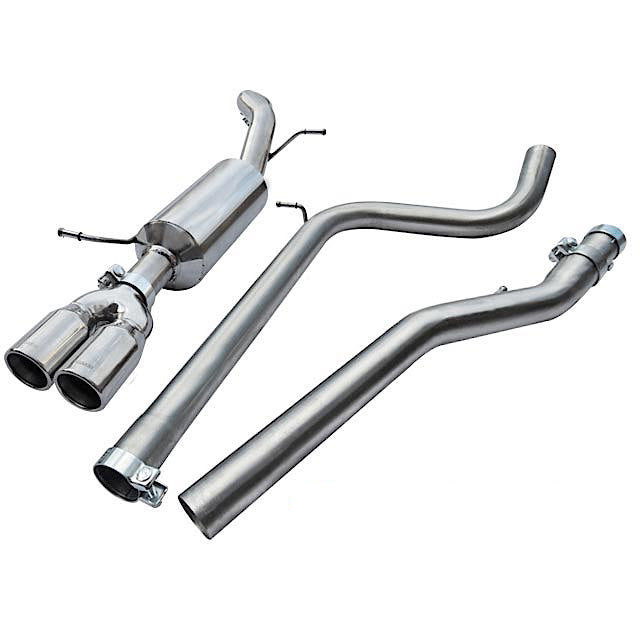Seat Ibiza FR Cobra Sport Exhaust - Non Resonated Cat Back