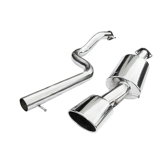 Seat Leon Mk1 1.8T 20V Non Res Cat Back Exhaust by Cobra Sport