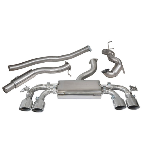 VW Golf R (Mk7.5) 2.0 TSI (5G) (18>) Turbo Back Performance Exhaust