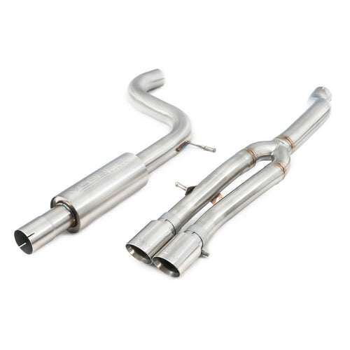 VW Polo GTI Mk6 AW Rear Box Delete Exhaust (GPF Back)
