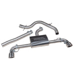 VW Golf GT TDI MK6 Sports Exhaust - Dual Exit Conversion