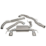 Vauxhall Corsa E VXR Turbo Back Exhaust VZ19a