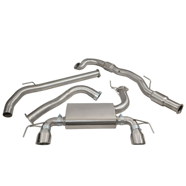 Vauxhall Corsa E VXR Turbo Back Exhaust VZ19b