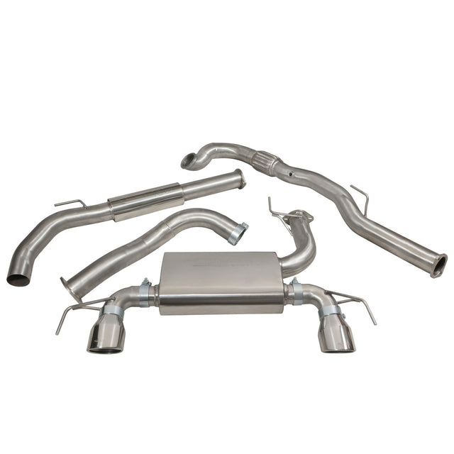 Vauxhall Corsa E VXR Turbo Back Exhaust VZ19c