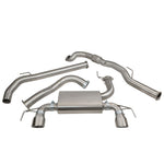 Vauxhall Corsa E VXR Turbo Back Exhaust VZ19d