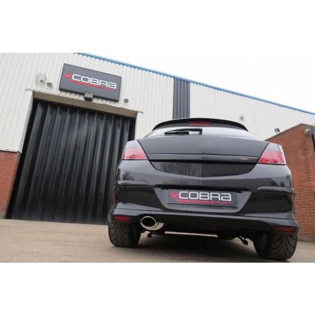Vauxhall Astra H Sports Exhaust Fitted -1