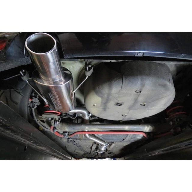 Vauxhall Astra H Sports Exhaust Fitted -3